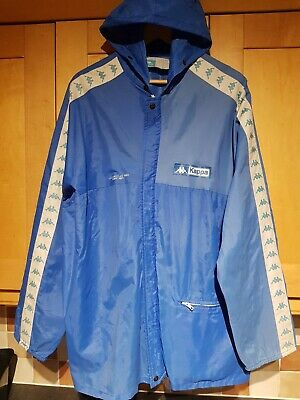 VINTAGE 80s Casuals - KAPPA ''SPORT' Cagoule Jacket - LA Olympic Games - Uk XL • 30£