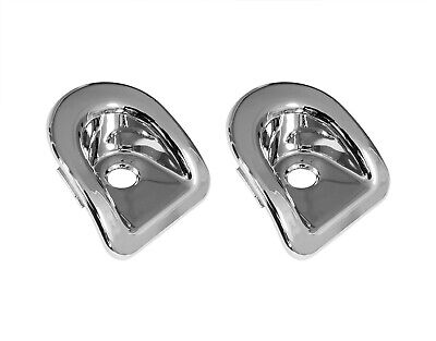 $23.50 • Buy 2005-2014 Mustang Chrome Door Panel Complete Lock Bezels Grommets Set LH & RH