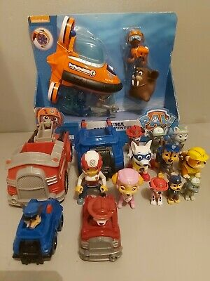 Collection Of Paw Patrol Toys And Figures • 21.69£