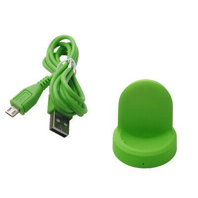 AU14 • Buy USB Desktop Charging Cradle Charger Dock For Gear S3 Classic/ Frontier Green