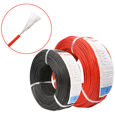 £1.25 • Buy UL3135 Flexible Electronic Wire 10-30AWG Rubber Silicone  Soft Cable Tin Copper