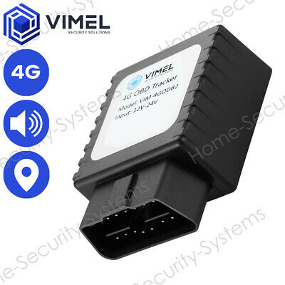 AU154 • Buy 4G Live Remote Listening GPS OBD2 Tracker Geo-Fence Security Vehicle Monitoring