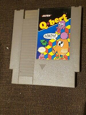 $ CDN14.50 • Buy Qbert (Nintendo Entertainment System, 1989)
