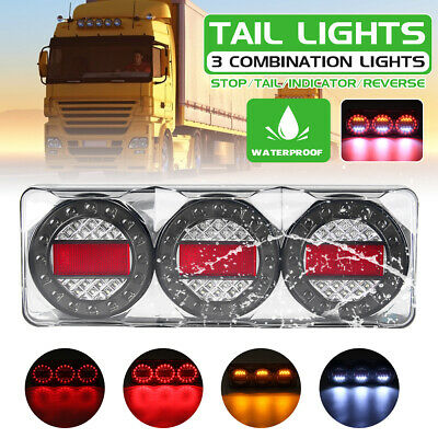 AU172.99 • Buy Single - 3 Combination Light LED Tail Lamp Signal Stop Trailer Reverse Indicator
