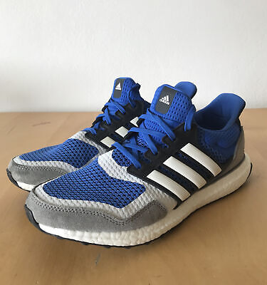 AU74.50 • Buy Adidas Ultra Boost S&L Blue/Grey Sneakers UK8 US8.5 EUR42