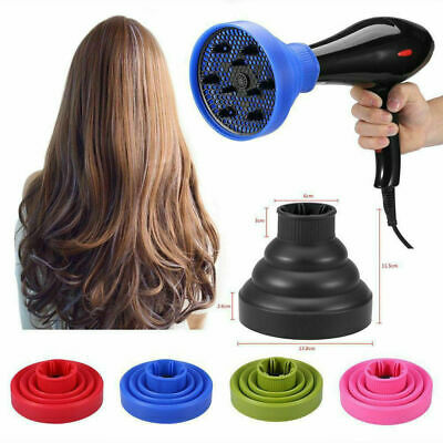 AU12.82 • Buy Silicone Hair Dryer NEW Universal Salon Travel Foldable Diffuser Professional