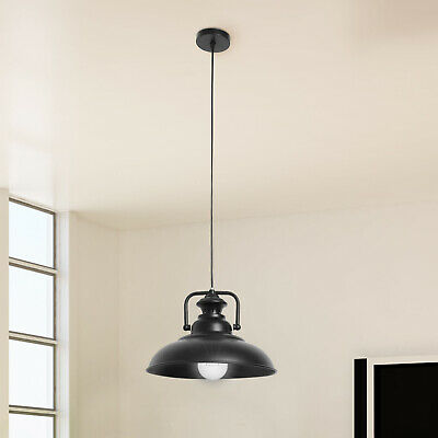 Vintage Industrial Metal Ceiling Pendant Shade Modern Hanging Retro Lights M0076 • 14.39£