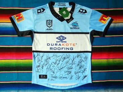 AU329.99 • Buy ✺Signed✺ 2020 CRONULLA SHARKS NRL Jersey PROOF COA 34 Autographs 2021