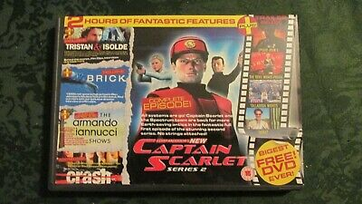 Dvd Captain Scarlet + Other Samples • 1.50£