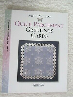 Quick Parchment Greeting Cards-Janet Wilson-2005 • 2.99£