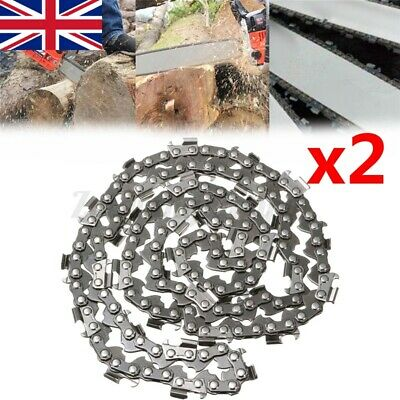 £10.44 • Buy 2Pcs 16inch 59 Drive Links Chainsaw Saw Chain Parts Tool Chainsaw Blade New UK