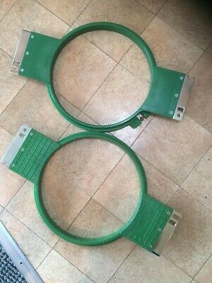 Brother Happy Tajima Industrial Embroidery Machine Hoop Size 21 • 15£
