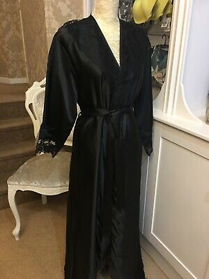 Black Satin Gown • 3.20£