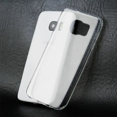 $ CDN2.75 • Buy Transparent Silicone Cover Case Protective Case For Samsung Galaxy S7 Edge