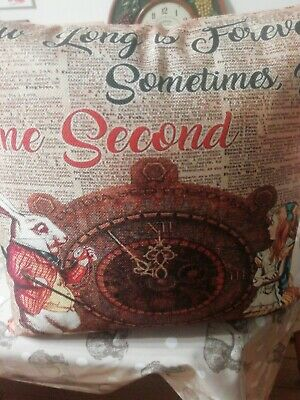 Alice In Wonderland Cushion • 11£