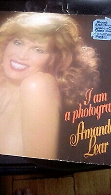 Amanda Lear I Am A Photograph LP Album S28866 From Germany • 4.99£