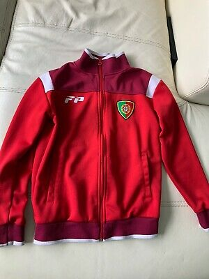 Portugal Zipper Top. Size Small Junior. 8-10 • 5£