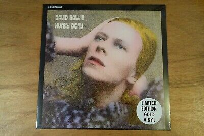 David Bowie Hunky Dory Limited Edition Gold Coloured Vinyl New Sealed 2017 Rare  • 54.95£