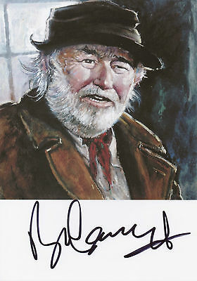 BILL MAYNARD Signed 12x8 Print HEARTBEAT Claude Greengrass COA • 39.99£