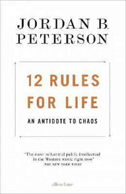 AU35.02 • Buy 12 Rules For Life: An Antidote To Chaos By Peterson, Jordan B.