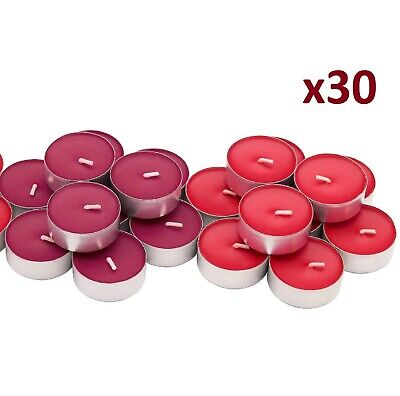 IKEA Sinnlig Scented Candles Tealight Coloured Tealights Gift 4 Hour Burning • 4.99£