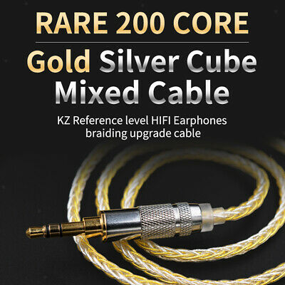 AU17.89 • Buy Upgrade Audio Cable For KZ-ZST ZSN ZS10 ZSR ZS10pro MMCX Headphones 1.2meter