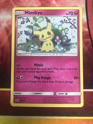 AU5.50 • Buy Pokemon Card Mimikyu Holo Promo SM163