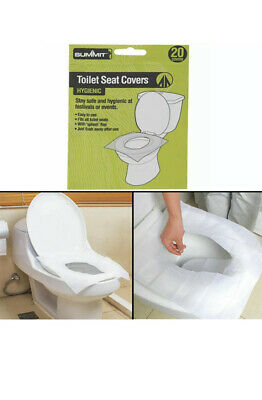 £2.75 • Buy 20 Pack Summit Disposable Paper Toilet Seat Cover Flushable Hygienic Health Camp
