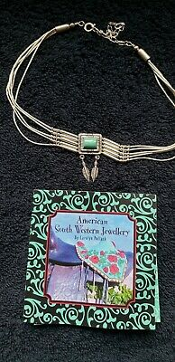 Native American South Western Silver Choker Necklace By Carolyn Pollack • 25£