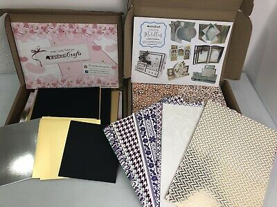 KANBAN CRAFTS - Mixed Metallic Card Bundle Large Quantity Variety Of Colours • 8.50£
