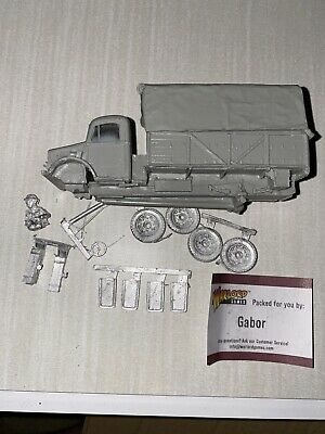 Warlord Games Bolt Action British Bedford Army Transport Truck Model WWII Lorry • 15£