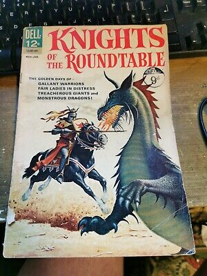 Knights Of The Round Table Rare Dell Comic 1964 Dragons Giants Warriors  • 5£