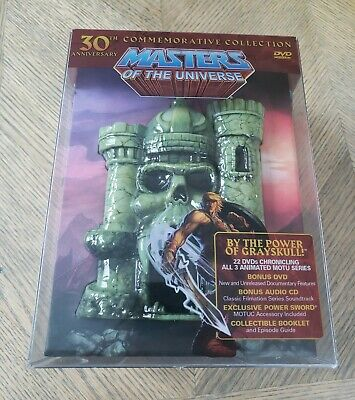 $243.29 • Buy He-man Masters Of The Universe 30th Anniversary Collection DVD Limited Edition