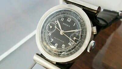 $ CDN1311.26 • Buy Vintage Rolex Monopusher - Lovely Stainless Steel Case - Mobile Lugs - 2918 Ref.