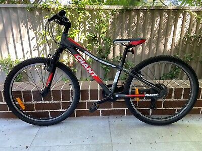 AU229 • Buy GIANT - XTC Jr 24 Kids Mountain Bike, 7 Speed, 2 Years Old, Great Condition