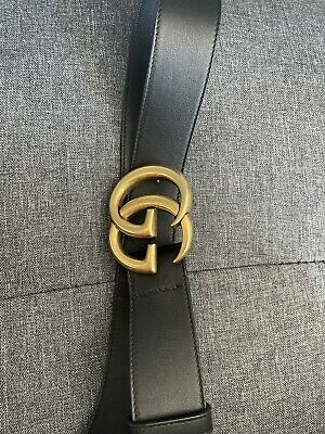 AU350 • Buy Gucci GG Marmont Belt Leather Authentic *READ DESCRIPTION*