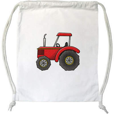 AU28.99 • Buy 'Red Tractor' Drawstring Gym Bag / Sack (DB00017456)
