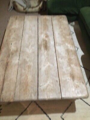 Rustic Upcycled Coffee Table • 11.30£