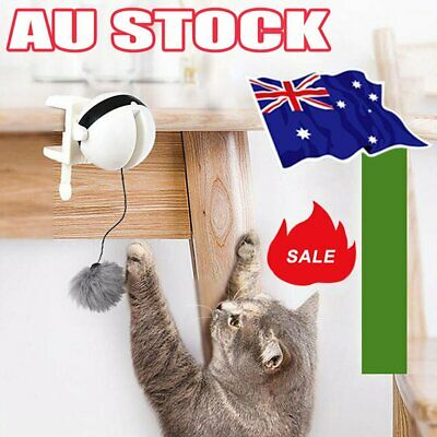 AU15.96 • Buy Electric Automatic Lifting Cat Ball Toys Interactive Puzzle Smart Pet Cat Balls@