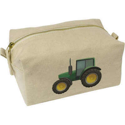 AU22.99 • Buy 'Tractor' Canvas Wash Bag / Makeup Case (CS00016565)