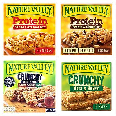 £5.99 • Buy Nature Valley Selections Cereal Bars (Pack Of 1,2,3,4,5)