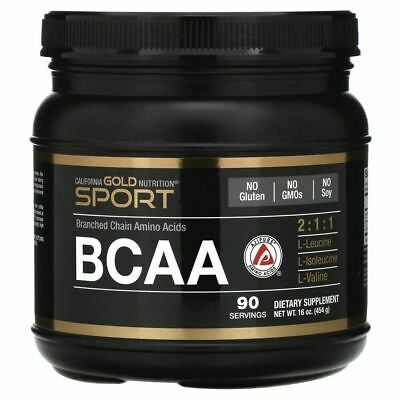 AU66.70 • Buy California Gold Nutrition, BCAA Powder, AjiPure®, Branched Chain Amino Acids, 16