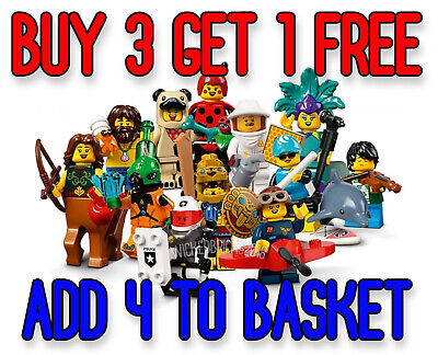 LEGO 71029 SERIES 21 MINIFIGURES (Pick Your Minifigure) Buy 3 Get 1 Free!! • 6.13£