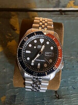 $ CDN185 • Buy Pre Owned Seiko Diver 7s26-0020 Skx007k2 Automatic Mens Watch W/pepsi Bezel