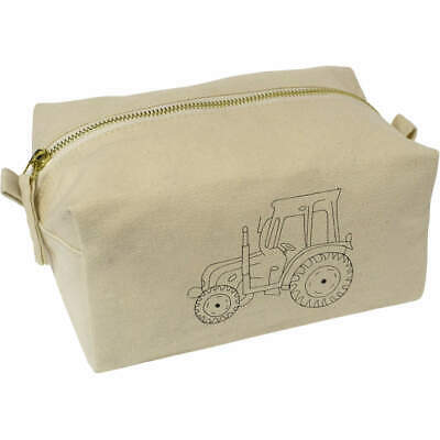 AU22.99 • Buy 'Tractor' Canvas Wash Bag / Makeup Case (CS00005476)