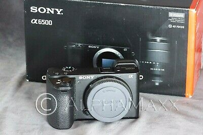 $ CDN921.98 • Buy Sony Alpha E A6500 24.2MP APS-C Digital Camera - Black (Body Only)