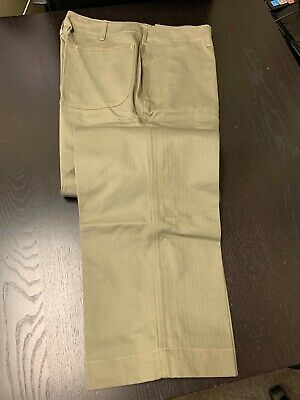 $79.99 • Buy WW2 USMC P41 Green HBT Uniform Trousers - SIZE: 34  Waist - Perfect Clean Repro.