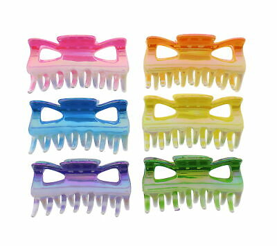 £7.69 • Buy 6 Pieces 9cm Hair Clamps/ Bulldog Claw Clips