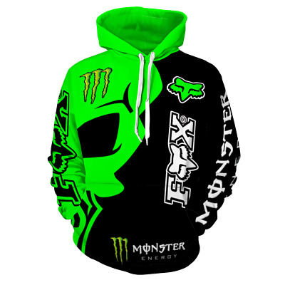 $ CDN52.92 • Buy Monster Style Hoodie Hooded Mens Adults Pullover Jumper Warm Classic Unisex