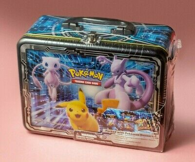 Pokemon SEALED Fall 2019 Collector's Chest - Charizard SM226, Mewtwo SM228 - NEW • 185£